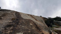Rock Climbing Photo: Taken from the 4th bolt on the 2nd pitch on Howdy ...