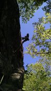 Rock Climbing Photo: At the top...