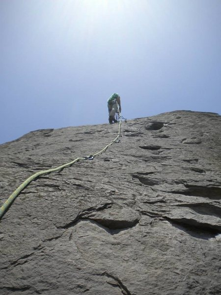 Rock Climbing Photo: Another flic at the top