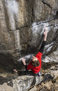 "Rock Climbing Photo: This photo shows the ""gas pedal"" (A term..."