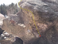 Rock Climbing Photo: Kintsugi.