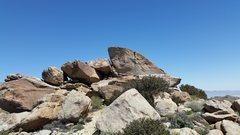Rock Climbing Photo: Short crack V0.