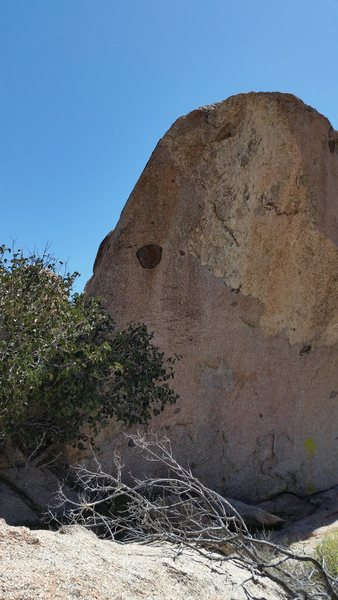 Rock Climbing Photo: Highball arete.