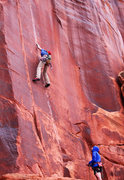 Rock Climbing Photo: onsight!