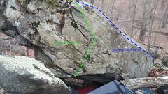 S&M's Backside (uphill)