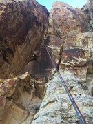 Rock Climbing Photo: Jodi's idea. And fun!