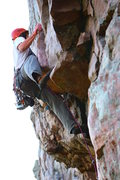 Rock Climbing Photo: Solid lead climb with good protection when you nee...
