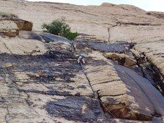 Rock Climbing Photo: Solar Slab.