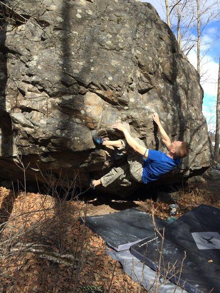 Rock Climbing Photo: Wishful Thinking.