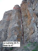 Rock Climbing Photo: La Llarona Topo