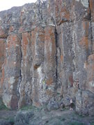Rock Climbing Photo: Climbers on the route