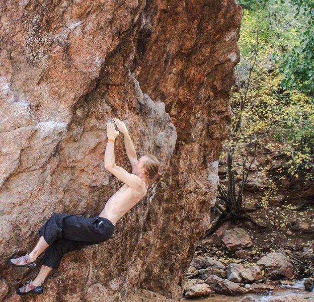 Rock Climbing Photo: Graduation Boulder, CO
