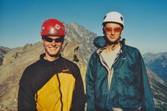 Rock Climbing Photo: Phil and I on North Ingalls Peak, summer 2001.