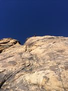 Rock Climbing Photo: Griffen on top of Early Bird