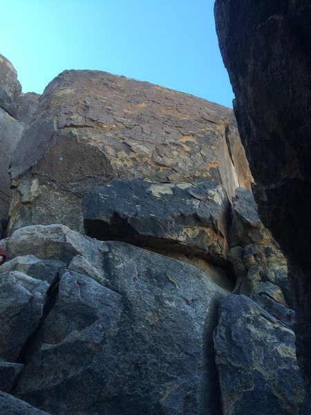 Rock Climbing Photo: Lunar Ascent is the middle line