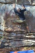 Rock Climbing Photo: Fun problem across from Spirit.