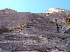 Rock Climbing Photo: Black Velvet Wall.