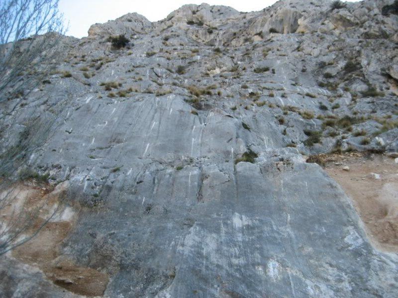 Rock Climbing Photo: Sector Canteras at Alfacar.