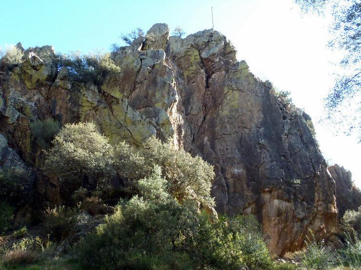 Peñón del Águila at Adamuz.
