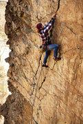 "Rock Climbing Photo: Garrett Woolley on ""Goodro's Wall"""