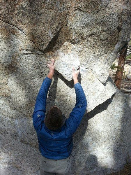 Rock Climbing Photo: Sorry I'm a fatty.