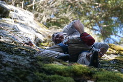 Rock Climbing Photo: Packard back on Trophy Wife, 10 years after he put...