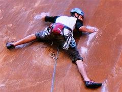 "Rock Climbing Photo: ""Nervous In Suburbia"" Moab Utah"