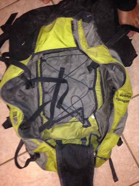 Granite Gear Latitude Vapor 3800 Pack, Great Condition<br> Retail: 195 Selling For: $150 including shipping