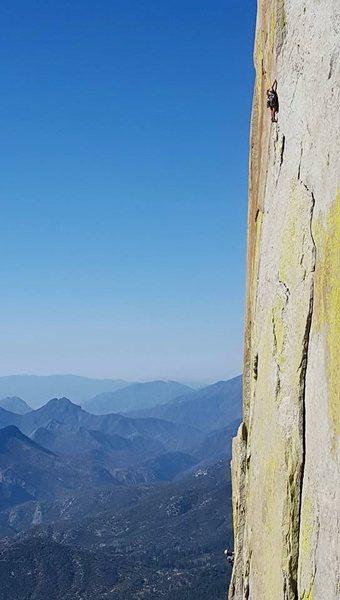 Rock Climbing Photo: The money shot on Thin Ice. Exposure!