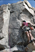 "Rock Climbing Photo: Marc Hill about to lead ""Hidden Technology&qu..."