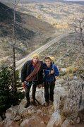 Rock Climbing Photo: Summiting Royal Flush