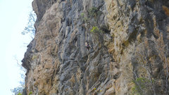 Rock Climbing Photo: American Outlaw First Ascent
