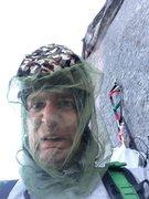 Rock Climbing Photo: New Hampshire climbing at its finest... during bla...