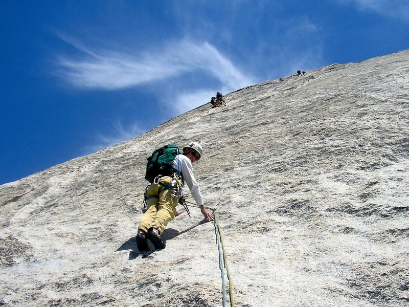 Rock Climbing Photo: Snake Dike. Yosemite.