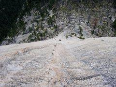 Rock Climbing Photo: Snake Dike.