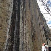 Rock Climbing Photo: woodchuck...steep