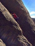 Rock Climbing Photo: Ryan emery leads solo system