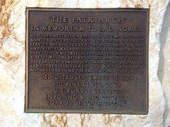 Rock Climbing Photo: A.E. Noren Memorial, White Mountains