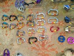 Rock Climbing Photo: Biners