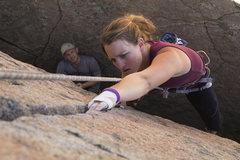 Rock Climbing Photo: She's got it dialed!