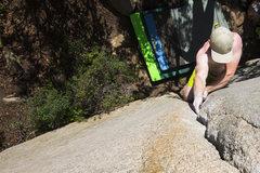 Rock Climbing Photo: Bill Dabbert giving it some burns.