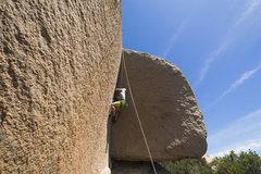 Rock Climbing Photo: Super striking dihedral
