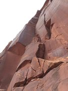 Rock Climbing Photo: The right facing dihedral,