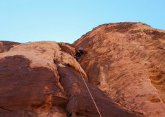 Rock Climbing Photo: Rump-angle on Ghouls Just Wanna Have Fun