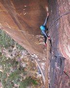 Rock Climbing Photo: Mescalito in Red Rock