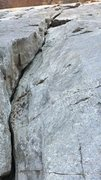 Rock Climbing Photo: View from the ground of Registration (The Arch) 5....