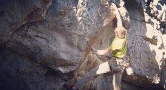 Rock Climbing Photo: Heave Ho 11a Dyno