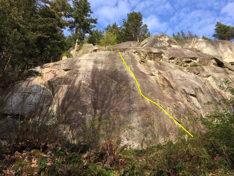 Rock Climbing Photo: Lumberland Topo