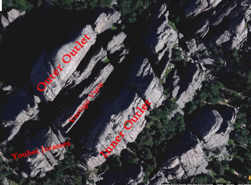 Rock Climbing Photo: Vertigo View