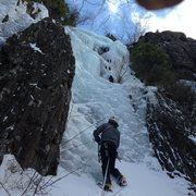 Rock Climbing Photo: Hardman Dave on Ice